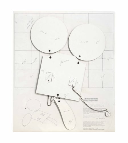 Claes Oldenburg-Geometric Mouse, Scale D 'Home-Made'-