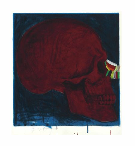 Jim Dine-Grease, Bone and Color-1993