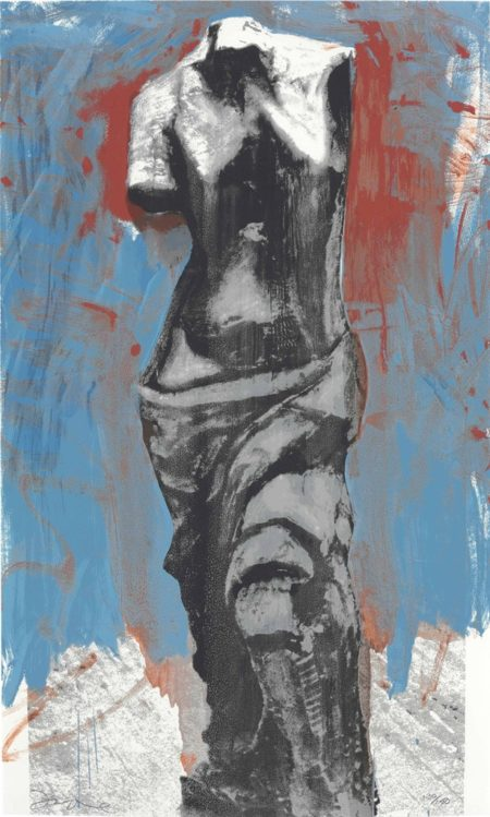 Jim Dine-The Red, White, and Blue Venus for Mondale-1984