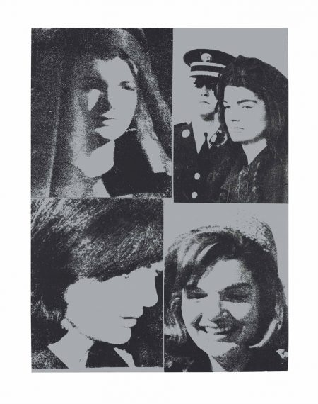 Andy Warhol-Jacqueline Kennedy III (Jackie III), from 11 Pop Artists III-1966
