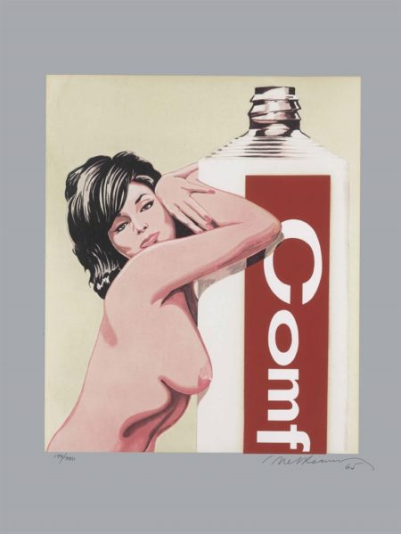 Mel Ramos-Miss Comfort Cream, from 11 Pop Artists, Volume III-1965