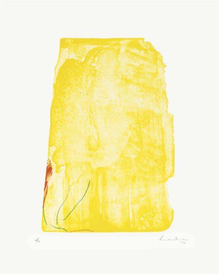 Helen Frankenthaler-I Need Yellow-1973