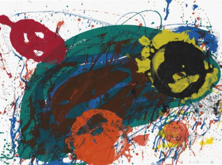 Sam Francis-For Thirteen-1989