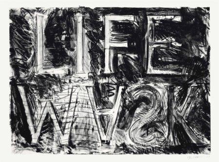 Bruce Nauman-Life Mask-1981
