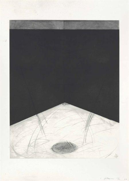 Bruce Nauman-Floor Drain-1985