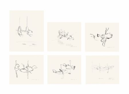 Bruce Nauman-Untitled: Six Prints-1990