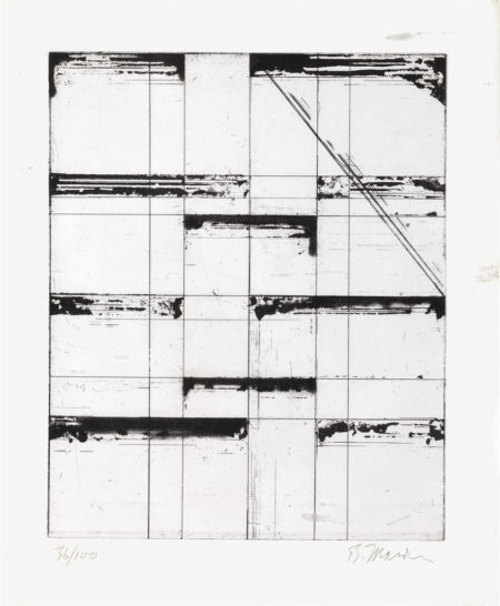 Brice Marden-Etching for Parkett-1985