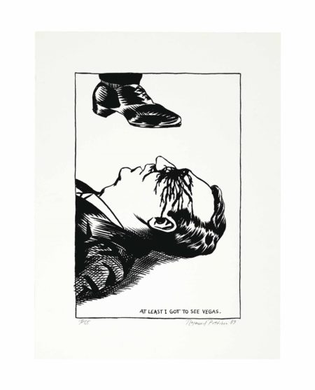 Raymond Pettibon-At Least I Got to See Vegas-1989