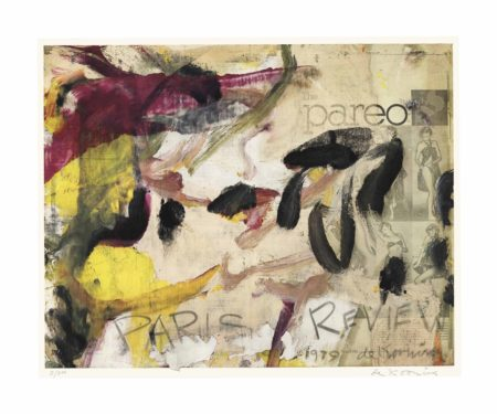 Willem de Kooning-After Willem De Kooning - Poster for Paris Review-1975