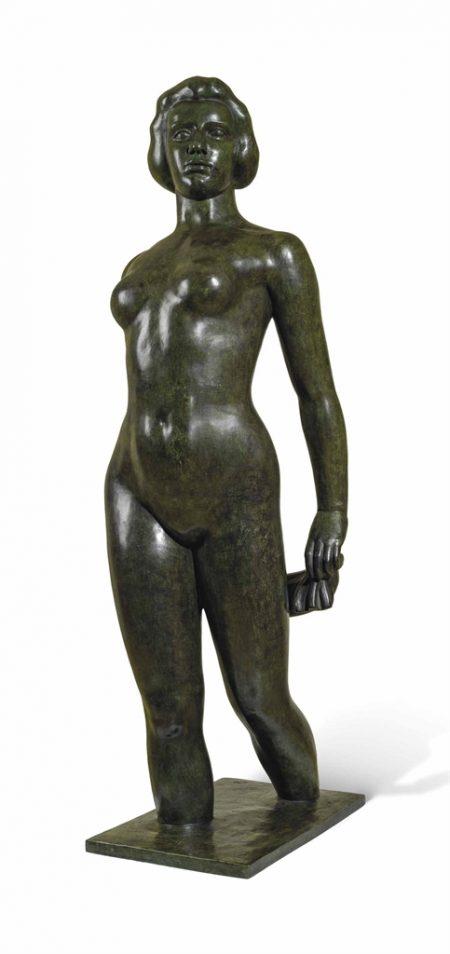 Aristide Maillol-Ile-de-France (Jeune fille qui marche dans l'eau)-2003