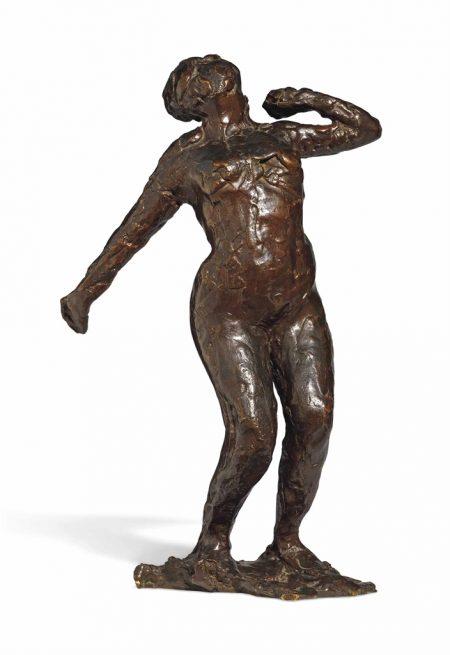 Edgar Degas-Femme s'etirant-1919