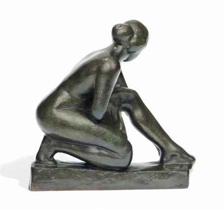 Aristide Maillol-Ramasseuse d'herbes sauvages-1930