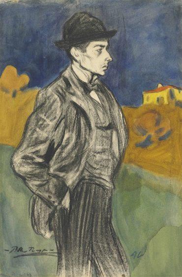 Pablo Picasso-Portrait de Lluis Alemany-1900