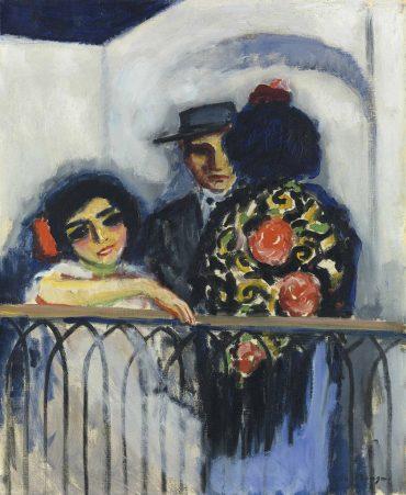 Kees Van Dongen - Le balcon-1910