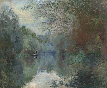 Claude Monet-Saules au bord de l'Yerres-1876