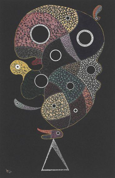 Wassily Kandinsky-Sans titre-1940