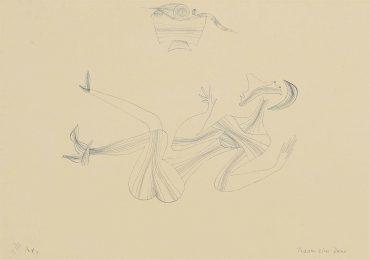 Paul Klee-Traum einer Dame-1928