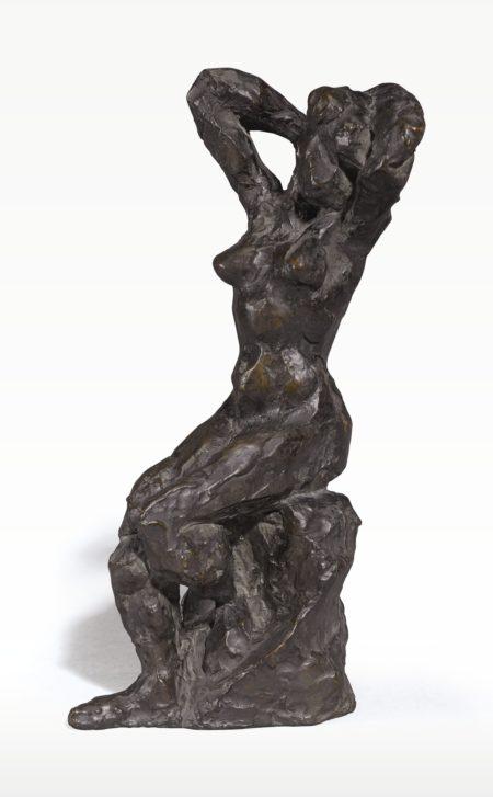 Henri Matisse-Nu Assis, Bras Sur La Tete-1930