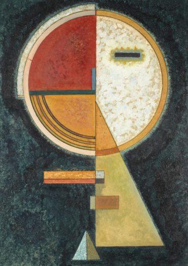 Wassily Kandinsky-Unfester Ausgleich (Unstable Compensation)-1930