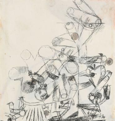 Paul Klee-Ohne Titel (Untitled)-1914