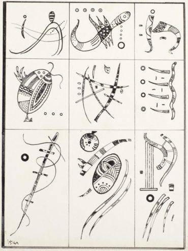 Wassily Kandinsky-Ohne Titel-1939