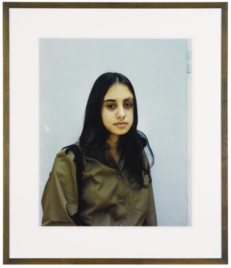 Rineke Dijkstra-Induction Center, Tel Hashomer, Israel April 12, 1999 C-1999