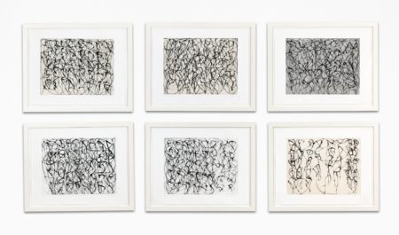 Brice Marden-Cold Mountain Series, Zen Study 1-6-1991
