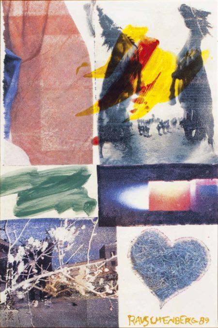 Robert Rauschenberg-Garden-Wise II #1-1989
