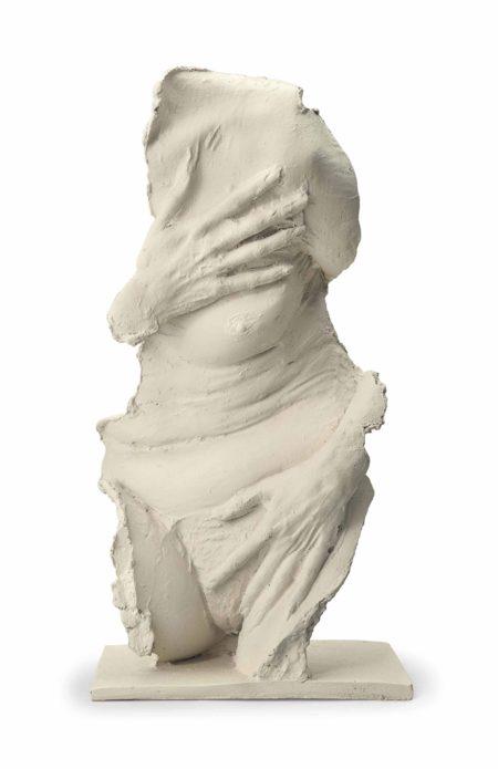 George Segal-Fragment: Venus Gesture-1986
