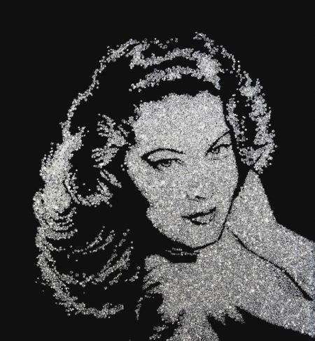 Vik Muniz-Ava Gardner (Pictures of Diamonds)-2005