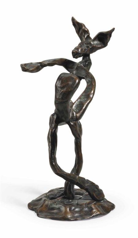 Barry Flanagan-Untitled: Dancing Hare-1989