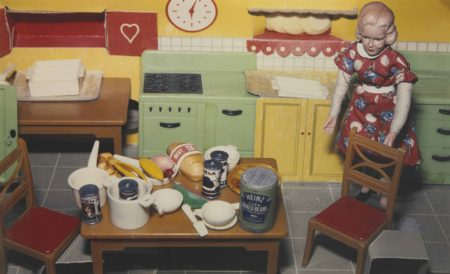 Blonde/ Red Dress/ Kitchen-1978