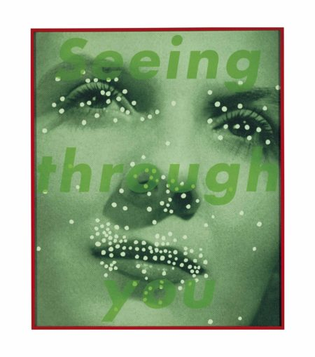 Barbara Kruger-Untitled (Seeing through you)-2004