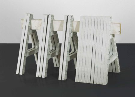 Cady Noland-Four in One Sculpture-1998