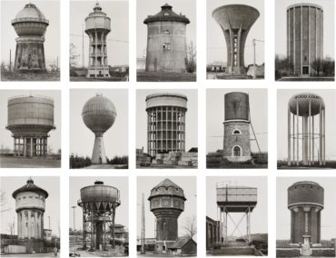 Bernd and Hilla Becher-Water Towers-1965