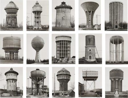Bernd and Hilla Becher-Water Towers-1965