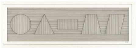 Sol LeWitt-Six Geometric Figures (13456)-1979