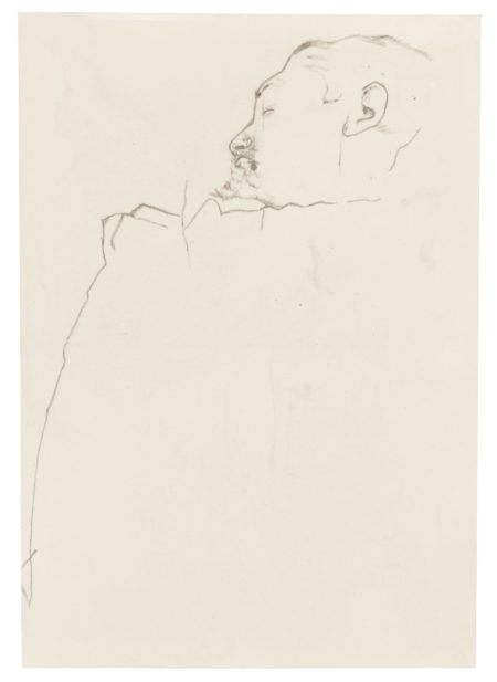 Sherrie Levine-Untitled (After Egon Schiele)-1985