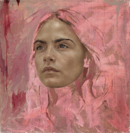 Jonathan Yeo-Cara Study I-2014