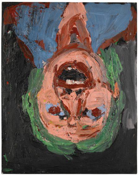 Georg Baselitz-Sechs Schone, Vier Hassliche Portrats: Hassliches Portrat 1-1987