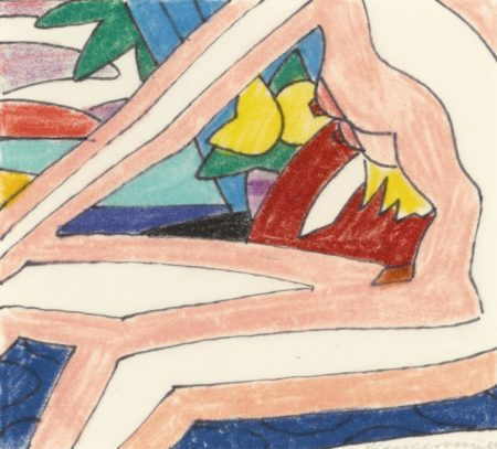 Tom Wesselmann-Study For Sunset Nude With Red Stockings-2003