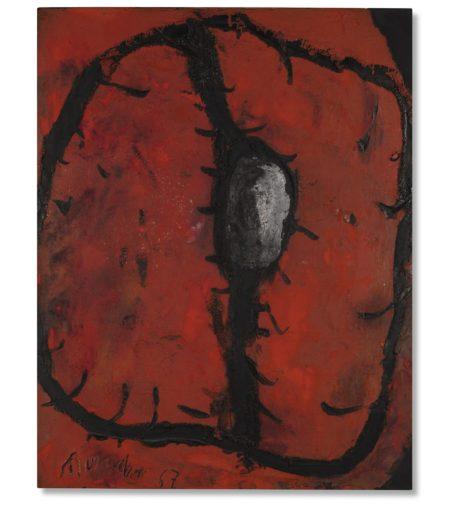 Emil Schumacher-Rotes Bild-1967