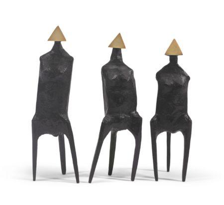 Lynn Chadwick-Three Standing Figures-1987