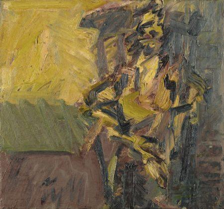 Frank Auerbach-J.Y.M. Seated II-1991