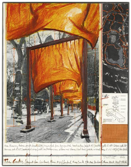 Christo and Jeanne-Claude-The Gates (Project For Central Park Nyc)-2004