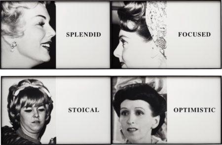 John Baldessari-Prima Facie: Splendid/Focused/Stoical/Optimistic-2005