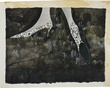 Andy Warhol-Shoes-1948