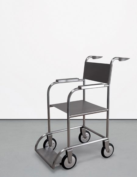Mona Hatoum-Untitled (Wheelchair)-