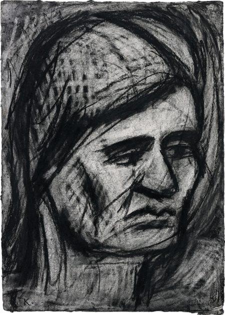 Leon Kossoff-Head of Rosalind-1977