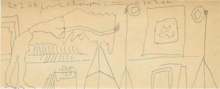 Pablo Picasso-Etude pour le Photograph-1964